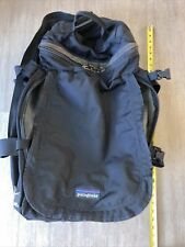 Patagonia Black Large Wheeled Suitcase Luggage Duffle Rolling Wheels 24x14x12