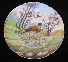 1880 Limoges Haviland Cfh Charles Field Gdm Hand Painted Cabinet Game Bird Plate