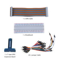 For Raspberry Pi 3B kit Expansion Board + GPIO Cable + Breadboard + Jump Cable