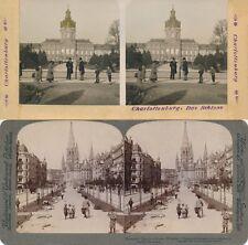 18 STEREOFOTOS VON BERLIN UM 1900, SERIE 8