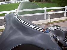Harley Davidson - Touring Chrome 4 Slot Windshield Trim 1996-2013