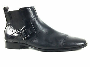 Stacy Adams Mason 24763 Men's Black Ankle Boots US.9 EU. 42. UK.8.5