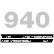 Case International 940 tractor decal aufkleber sticker set