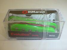 DIMARZIO ISCV2 Evolution Single Coil MIDDLE Electric Guitar Pickup - GREEN
