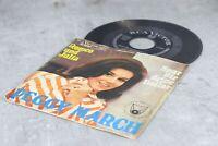 """alte 7"""" Single Schallplatte Vinyl mit Peggy March vintage"""