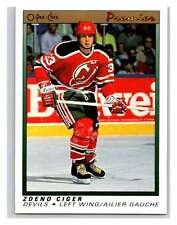(HCW) 1990-91 OPC Premier #15 Zdeno Ciger RC Rookie NJ Devils Mint