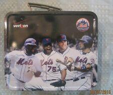 New York Mets David Wright Metal Lunchbox Verizon August 15, 2010 Giveaway NEW