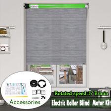 230V 145W 0.65A 35mm DIY 17RPM Electric Roller Blind Shade 10NmTubular Motor Kit
