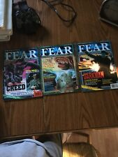 FEAR MAGAZINES LOT OF 3 Lv