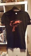 Futurama Raygun Ladies XL Black T Shirt Loot Crate Geekbox Exclusive Simpsons