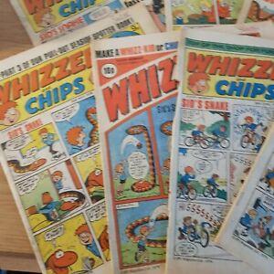 Whizzer And Chips Comics Bundle Joblot - 26 Comics - 70 & 80's  - Good Condition