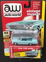 Auto World 1962 Chevy Impala Convertible 1:64 Diecast Car - Choose Color