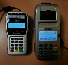 First Data Fd35 & Fd100 Credit Card Terminal