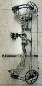 Mathews V3 31 R/H Compound Bow With Quiver - Rest - Stabilizer- Sight