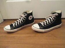 Used Sz 12 Fit Like 12.5 - 13 Converse Chuck Taylor All Star High Shoes Black