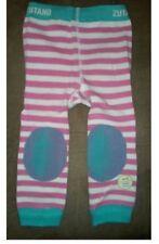 girls 0 - 12 mnt ZUTANO footless tights new padded knee
