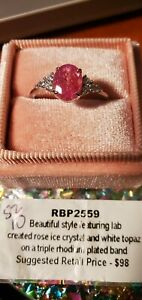 RBP2559 ring bomb party rings size 10, SRP $98
