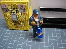1/18? - Billet Aluminum NOS BOTTLE - BLUE - for your shop/garage/diorama