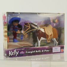 Mattel - Barbie Doll - 2001 Cowgirl Kelly & Pony Set *NM BOX*