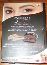 Supertek 3 second brow Eyebrow stamp as seen on TV in brown