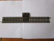"ATLAS HO CODE 100 STRAIGHT 9"" TERMINAL TRACK nickel silver rail black"