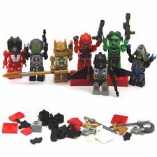 Lot 7 New TRANSFORMERS AUTOBOT RACHET KRE-O KREON Building Figure Toys FW197