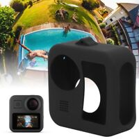 TELESIN Silicone Protective Shell with Lens Cap for Gopro MAX Panoramic Camera