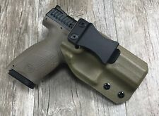 IWB Taco Holster CZ P10 C Compact FDE Retention Concealment Swift Draw kydex
