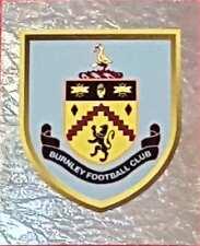 48 BURNLEY badge 2018 Topps Merlin Premier League stickers foil shiny