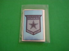 1990 PANINI FOOTBALL DALLAS COWBOY STICKER SET