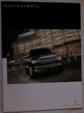 2009 09 Lincoln Navigator  original sales brochure MINT
