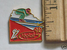 1992 Downhill Ski Racing Skiing Pin , Yoplait Lapel Pin
