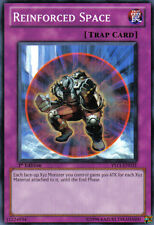 YS11-EN031 YuGiOh! Trap Card - REINFORCED SPACE 1st Edition MINT / NEAR MINT
