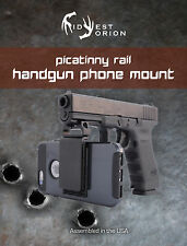 Handgun | Phone |Smartphone Mount | Picatinny | Rail | Rifle | Glock | HK | sig