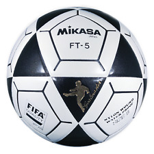 Mikasa FT5 Series Goal Master Soccer Ball - Size 5, Black and White