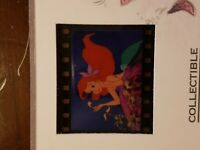 "Disney Little Mermaid Collectible Film Cell Image 7.25"" x 5.25"" MUST SEE"