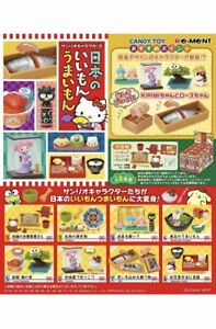 RE-MENT Sanrio Characters Hello Kitty Japanese Recommended Goods Full Set Of 8