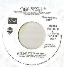 45 David Frizzell & Shelly West A Texas State Of Mind PROMO