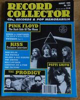 Record Collector, August 1996, Pink Floyd, Simon & Garfunkel, Kiss, Patti Smith