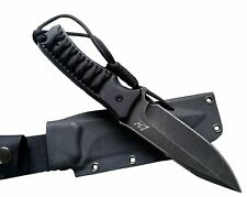 Fixed Blade Hunting Knife Straight Edge Blade Extreme Survival D2 Steel & sheath