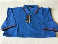 Mens Fred Perry Twin Tipped Polo Shirt   Size Small.  Slim Fit