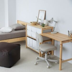 MUJI Foldable Pine Wood Table FedEx