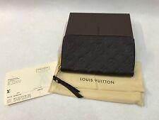 New With Receipt Louis Vuitton Secrete Empreinte Terre Monogram Long Wallet