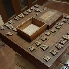 SHOGI BAN Board Table Game with Koma piece, box set Japan Chess Antique Vintage