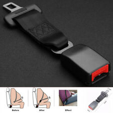 "Universal 9"" Car Seat Belt Seatbelt Safety 7/8"" BUCKLE Extender Extension Solid"