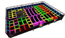 10,000 sqft Commercial Turnkey Trampoline Park Dodgeball Gymnastics We Finance