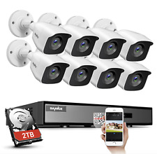 SANNCE 4CH 8CH 1080P HDMI DVR H.264+ 2MP Outdoor CCTV IR Security Camera System