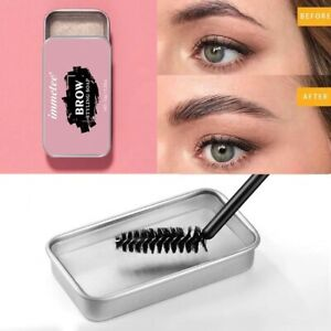 Eyebrow Shaping styling Soap Waterproof natural brow makeup Soap Gel With Brush
