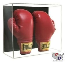 UV Protecting Acrylic Wall Mount Double Boxing Glove Display Case Large GameDay