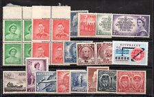 Australia Kgvi-Qeii mint Mh collection Ws6024